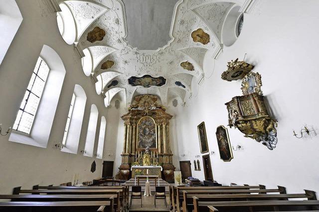 Eine Treppe als barocke Spielerei