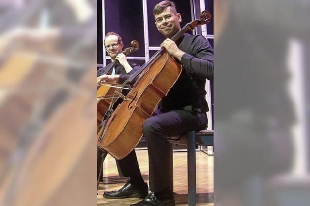 Weimarer Cellisten zeigen in Wehr ihr Repertoire