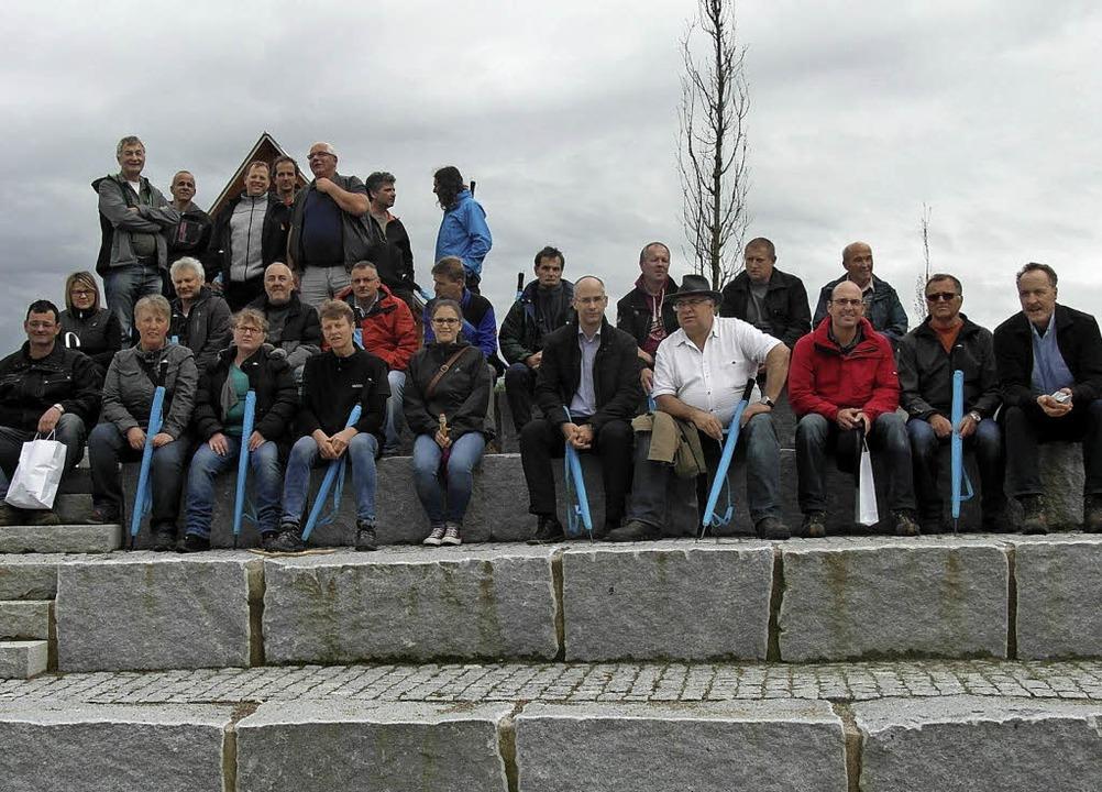 Die Markgräfler Gärtner haben sich in ...u und den Naturschutz zu informieren.     Foto: Stadt Neuenburg