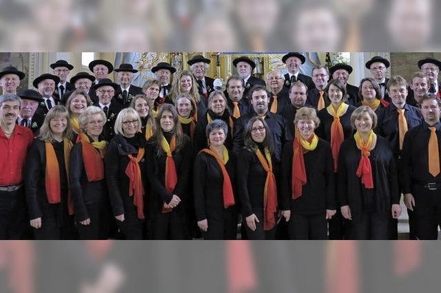 Gospelchor, Projektchor, Liederkranz und die Chorgemeinschaft Dreiklang sorgen für vielfältiges Konzert in Bernau