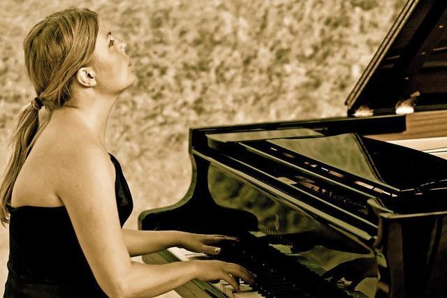 Ann-Helena Schlüter gibt ein Benefizkonzert in der Bergkirche Bahlingen