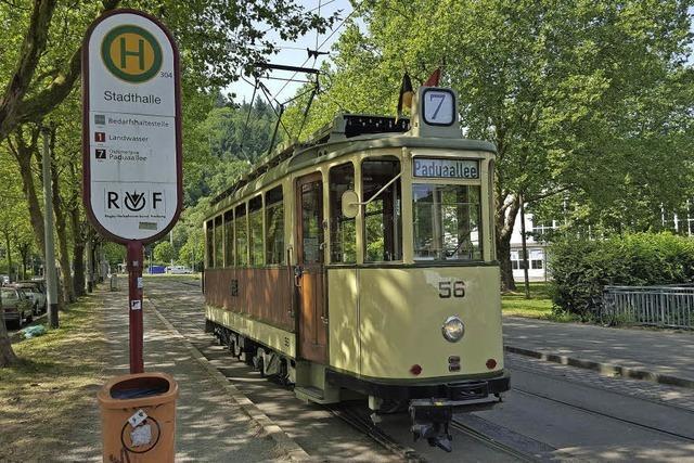 Die Oldtimerlinie 7 startet am Samstag, 7. Mai, in die neue Saison, auch das Tramcafé ist am Samstag unterwegs