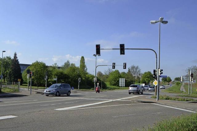 Startschuss für den Bau des nächsten Kreisverkehrs in Bad Krozingen