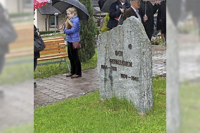 Symbolisches Soldatengrab soll neuer Urnengrabstätte weichen