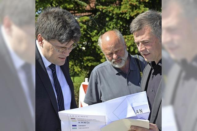 Landrat Kistler informiert sich in Wutach