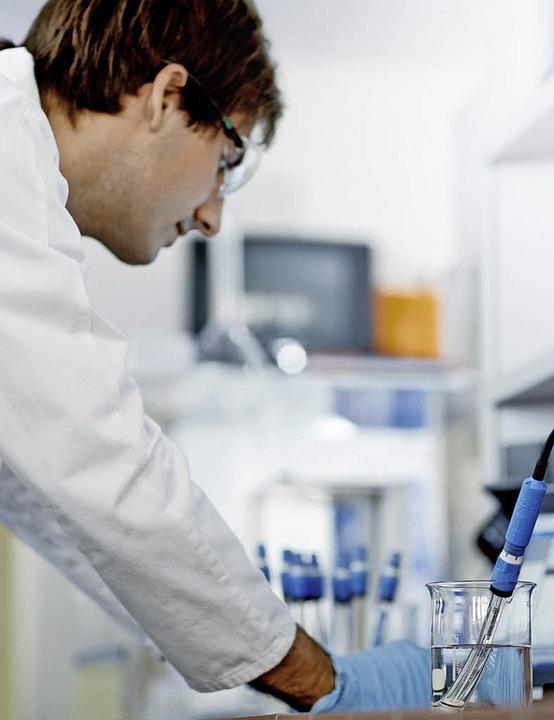 E+H setzt auch auf Laboranalyse.  | Foto: ZVG