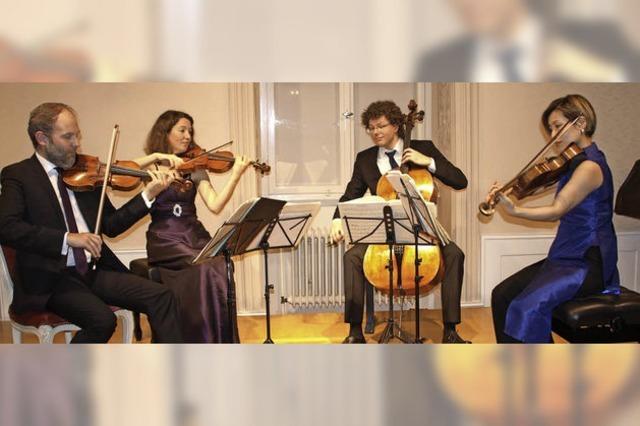 Amaryllis Quartett weiß zu überzeugen