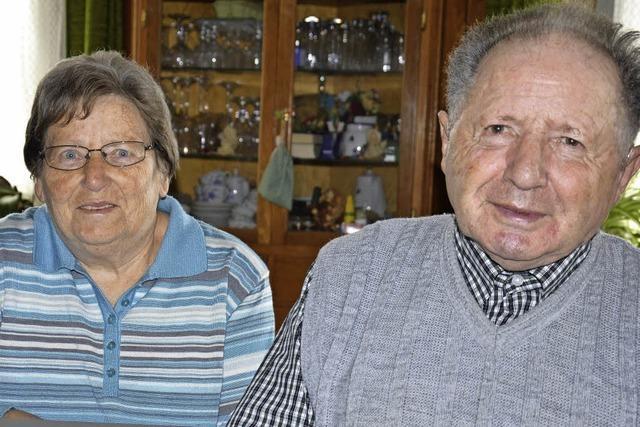 Gertrud und Heinz Asal: Ein Leben lang Hand in Hand