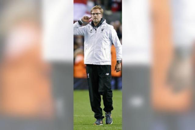 Ovationen für Klopp beim FC Liverpool