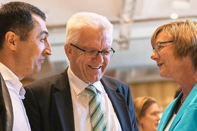 Grünen-Parteitag billigt Koalitionsvertrag