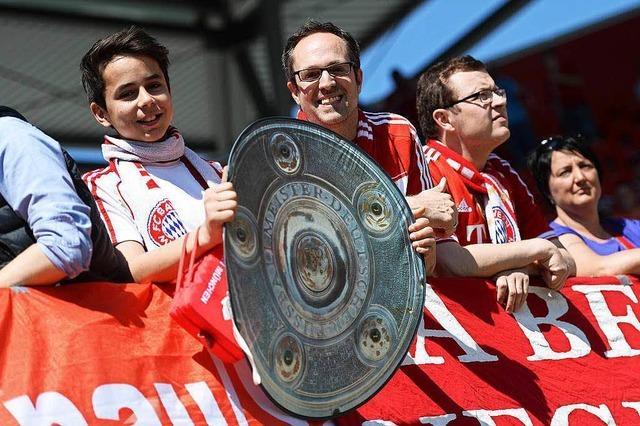 FC Bayern München holt 4. Meister-Titel in Serie
