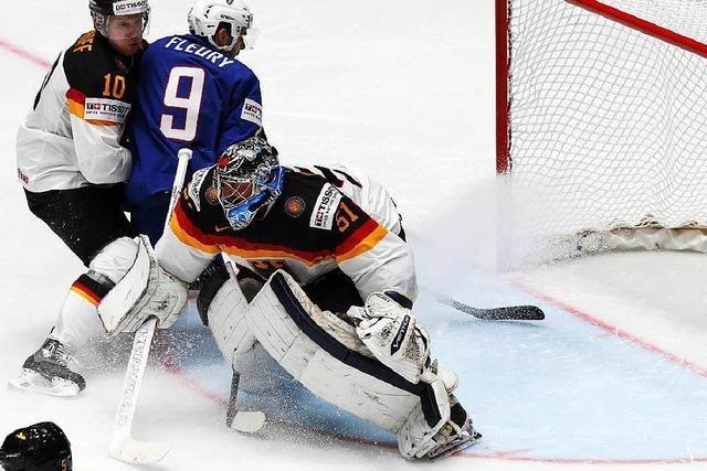 Eishockey-WM: Deutschland verliert gegen Frankreich