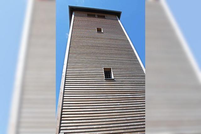 Der Lehekopfturm ist eingeweiht worden