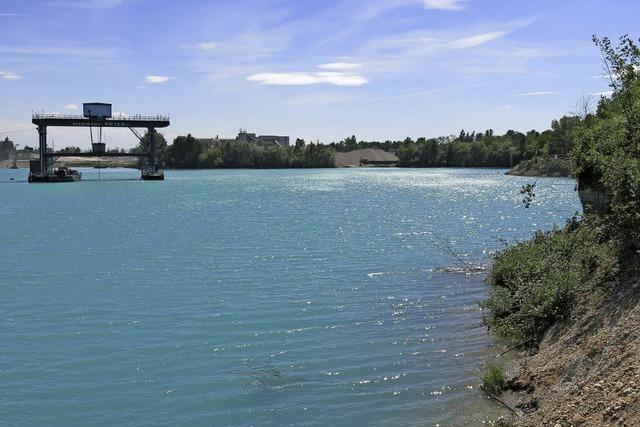 Nach neuen Plänen soll der Ausbau des Rimsinger Baggersees jetzt in Richtung Osten erfolgen