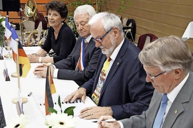 Herbolzheim und Sisteron feiern 40 Jahre Städtepartnerschaft