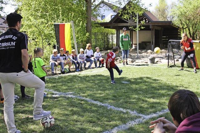 Kids im Fußballfieber