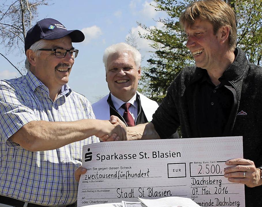 Dachsbergs Bürgermeister Helmut Kaiser...e Gemeinde die Sanierung unterstützte.  | Foto: Cornelia Liebwein