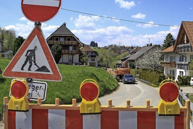 Mühlenweg ist gesperrt