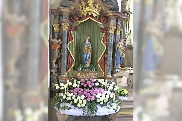 Zu Ehren der Mutter Gottes