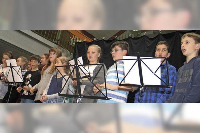Musik prägt die Klassen fünf und sechs
