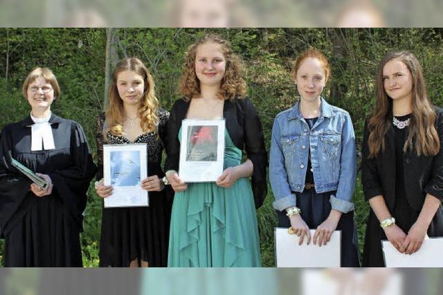Konfirmation in Löffingen