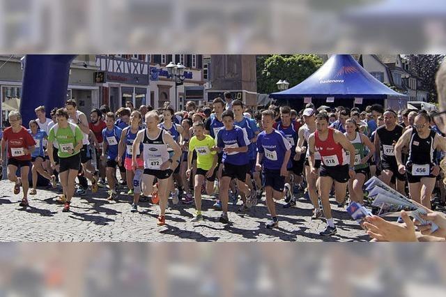 1100 Athleten gehen beim Badenova-Lauftag an den Start