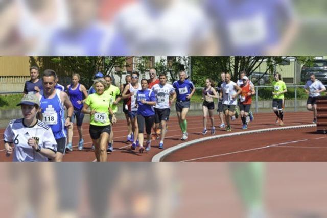 Tolles Treffen der Läufer