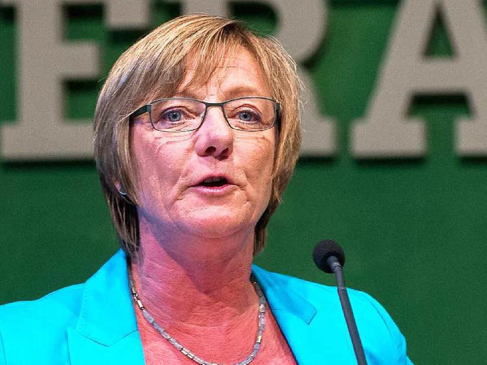 Die Freiburgerin Edith Sitzmann wird F...inisterin in der neuen Landesregierung  | Foto: dpa