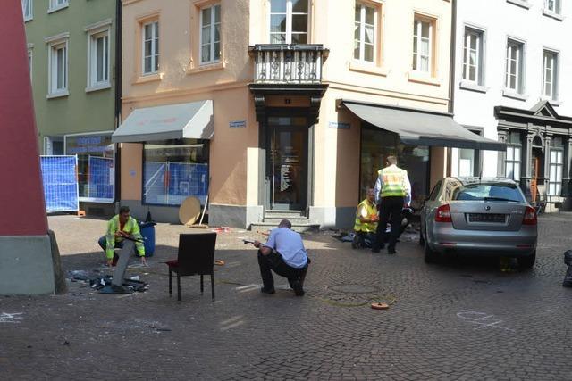 Nach dem schweren Unfall steht Bad Säckingen unter Schock