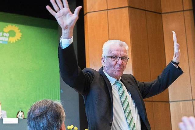 Parteitag der Grünen stimmt Koalitionsvertrag zu
