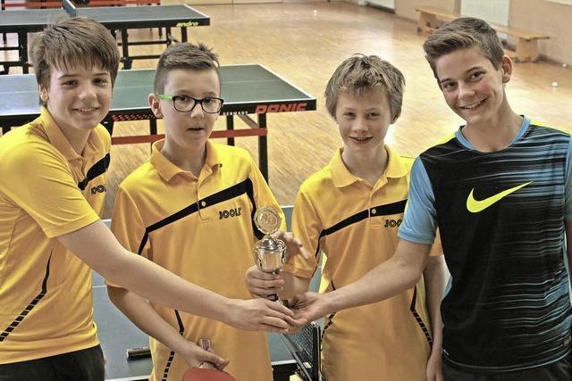Benedikt Sachs ist Tischtennis-Jugendmeister