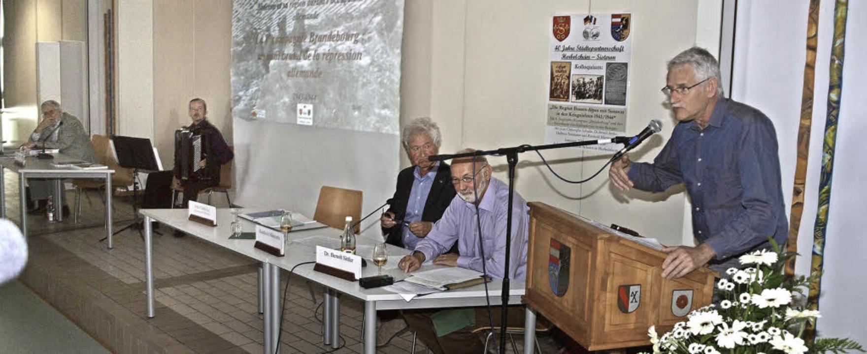 Über die Besonderheiten des Krieges - Herbolzheim - Badische Zeitung