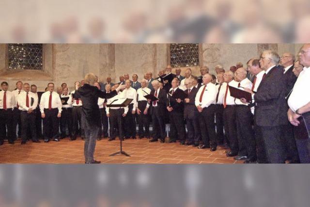 Männerchorfestival in der Martinskirche