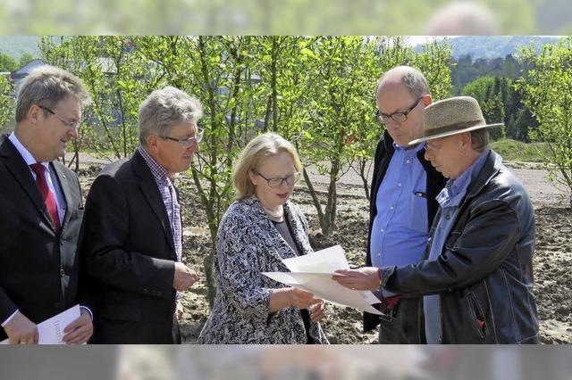Kanadas Gesandte besucht Lahr