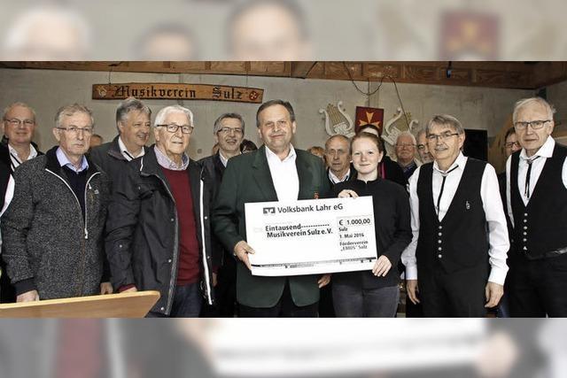1000 Euro für den Musikernachwuchs