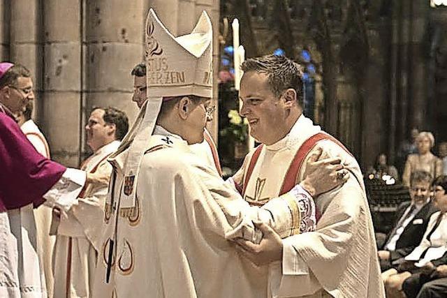 Priesterweihe von Tobias Streit