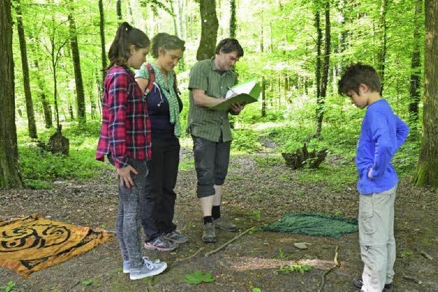 Schwarzwaldverein organisiert Natur-Olympiade auf Waldspielplatz