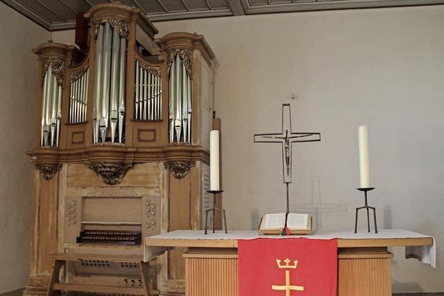 Kaltenbacher Altar findet Kirchenasyl in Marzell