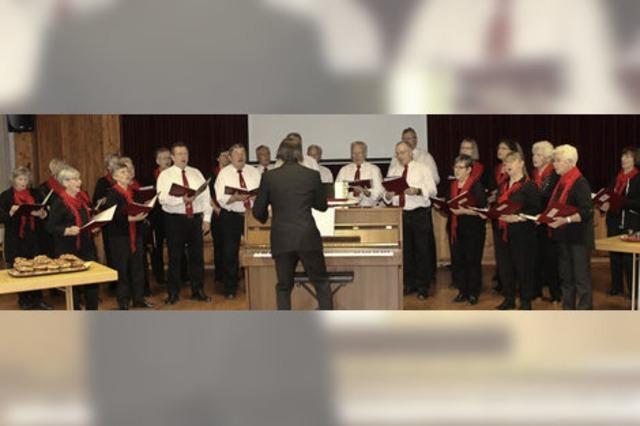 Schallbacher Chor ist im Aufwind