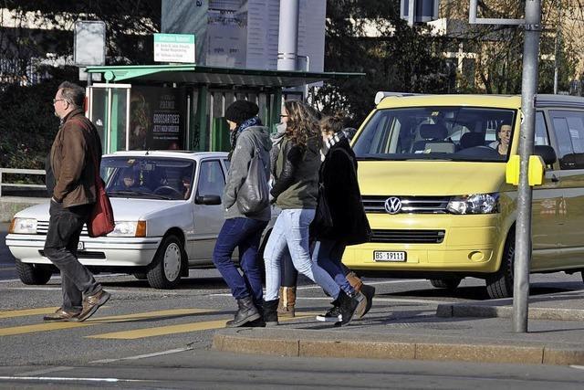 Weniger Autos, mehr Radfahrer und ÖPNV-Nutzer