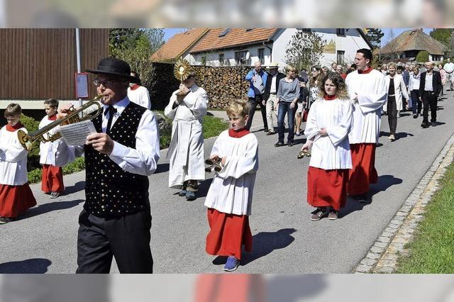 Strittberger feiern Patron