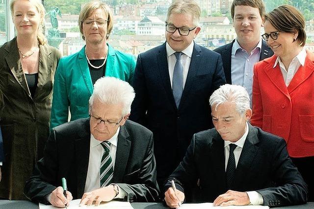 Der Koalitionsvertrag ist unterschrieben
