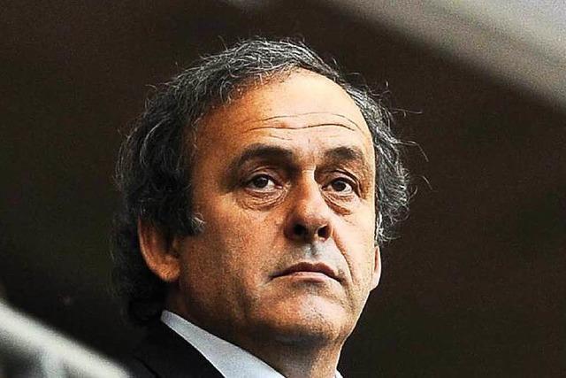 Schlusspfiff für Platini