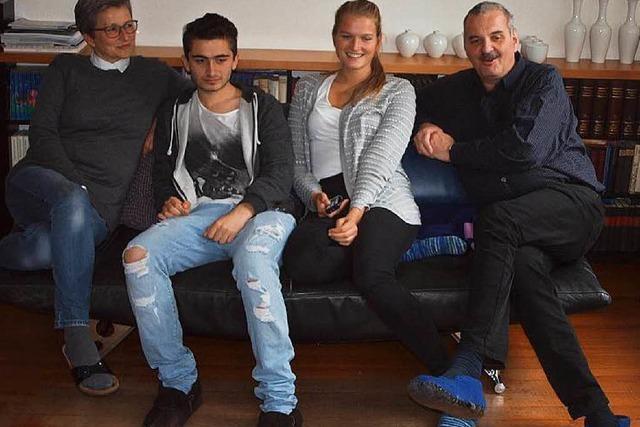 Emmendinger Familie nimmt syrischen Flüchtling auf