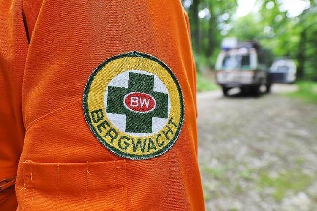 Männer stürzen beim Pinkeln von Freiburgs Kybfelsen ab – Bergwacht muss sie retten