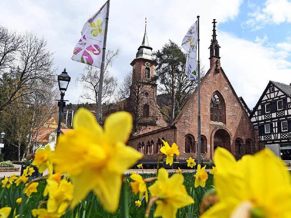 Das Kloster des Städtchens im Nordschwarzwald    Foto: dpa