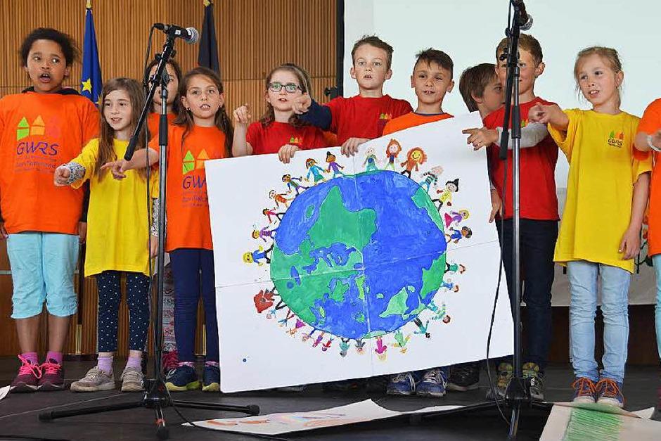 Grenzüberschreitendes Sprachenfest (Foto: Nadine Hauer/Luisa Diegelmann)