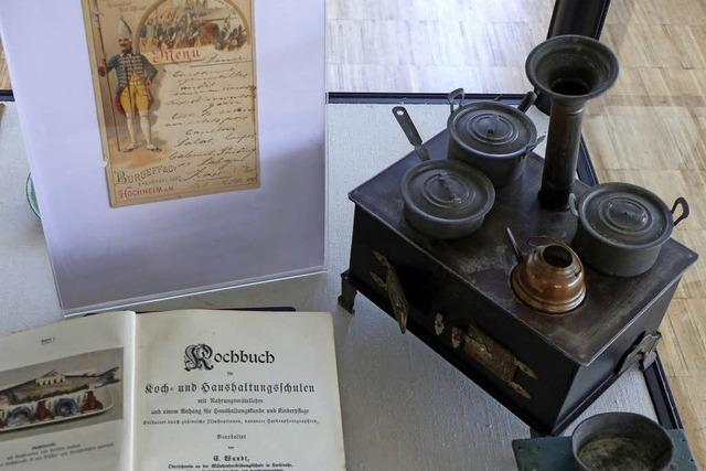 Historische Kochbücher in Müllheim