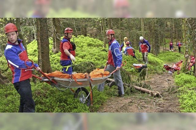Die Bergwacht Bernau feiert Jubiläum - mit Ausstellung und Festakt
