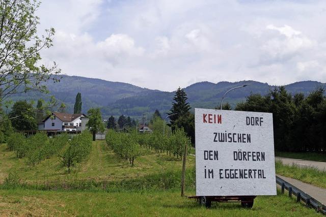Bürgerprotest im Eggenertal